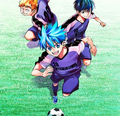 The Knight in the Area Manga Duo to Launch New iCONTACT Soccer Manga