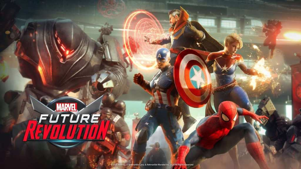 Marvel Future Revolution Release Date (Article ready)
