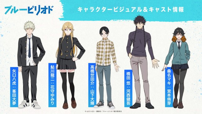 The Blue Period Anime's 2nd Video Previews Omoinotake's Opening Song
