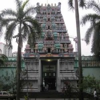 Sri Thendayuthapani Temple has a big 75 feet tall Gopuram (tower).