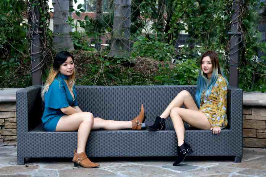 romper forever 21 women woman fashion style trends ankle boots jumpsuit bellsleeves funinthecloset la fashion cali socal