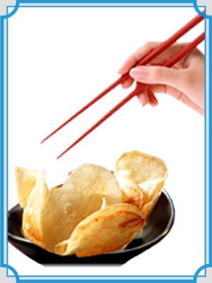 ポテトチップス 箸