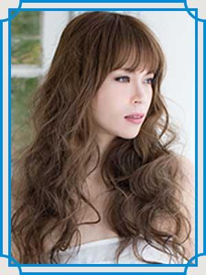小柳ゆき 髪型