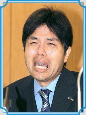 野々村竜太郎 号泣