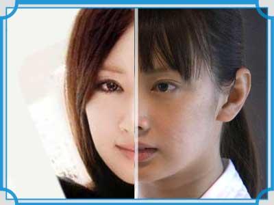 北川景子 すっぴん 整形比較