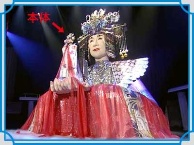 小林幸子 紅白衣装
