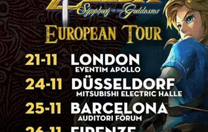 El concierto 'The Legend of Zelda' visitará de nuevo Barcelona