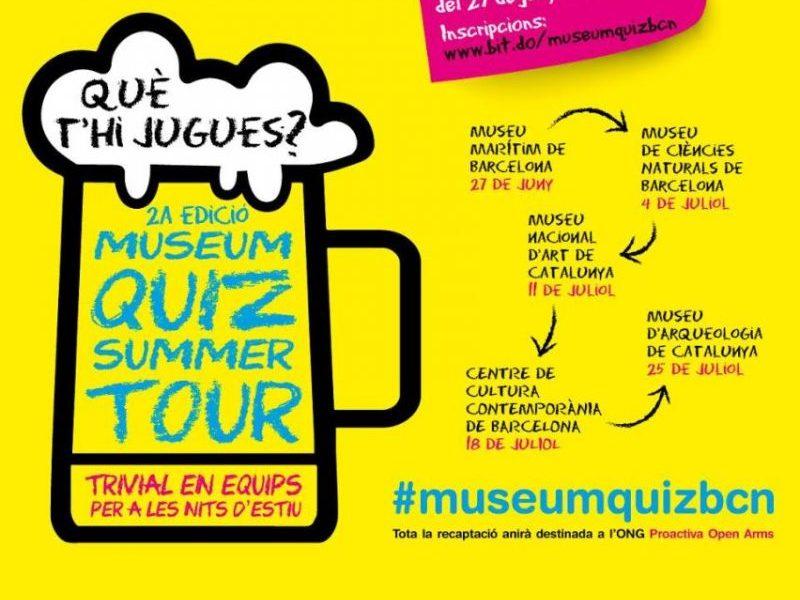 Vuelve la segunda edición del «Museum Quiz Summer Tour»