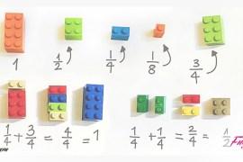 Teacher Alycia Zimmerman Uses Legos To Teach Math To School Children.