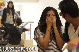 This cute complimenting girls prank is the most adorable prank ever