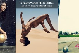 12 Sports Women Sheds Clothes To Show Their Naturist Form