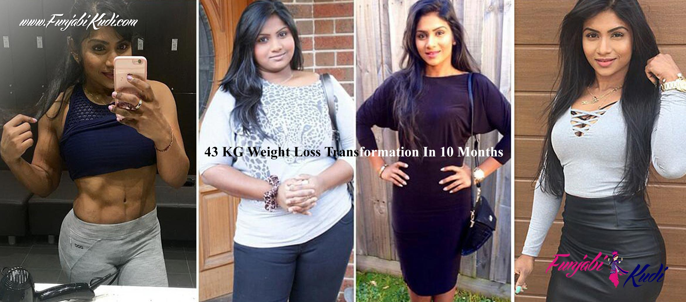 This Woman's 43 KG Weight Loss Transformation In 10 Months ...