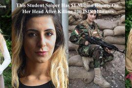 Student Sniper Joanna Palani Kills 100 ISIS Militants