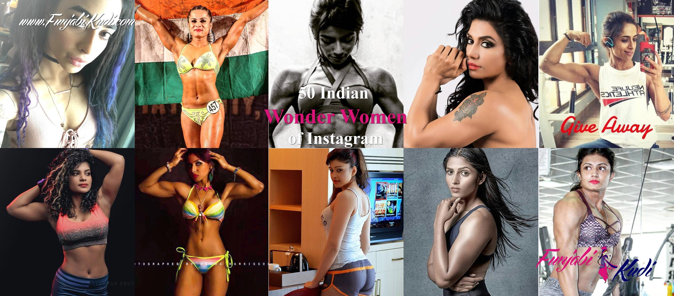 50 Indian Wonder Women of Instagram Which Will Inspire You