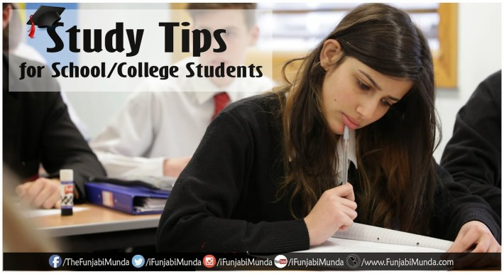 Study Tips for School College Students