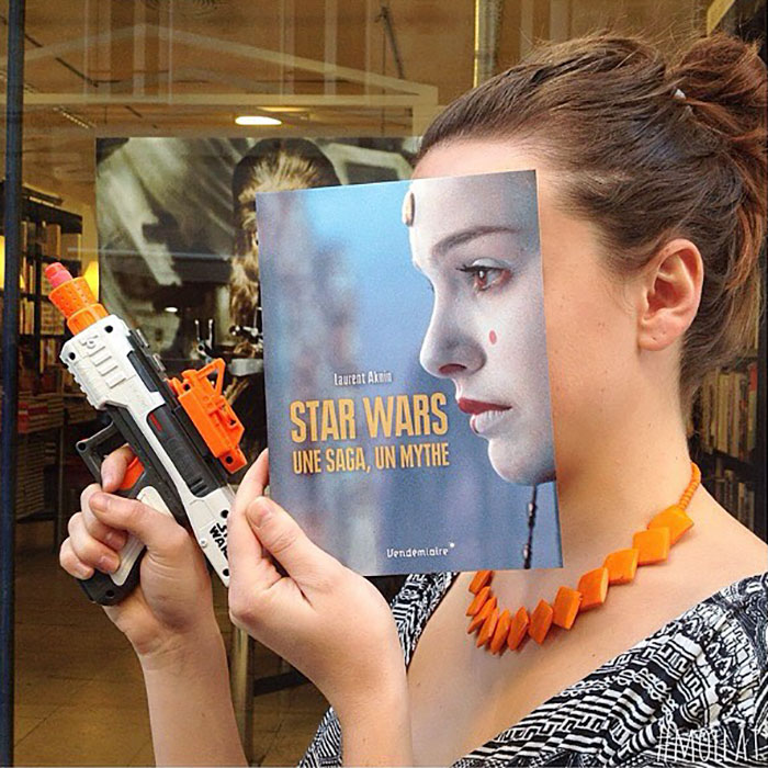 When People Match Books Creatively - Librairie Mollat