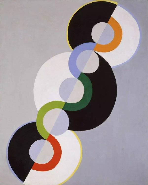 Robert Delaunay Endless Rhythm