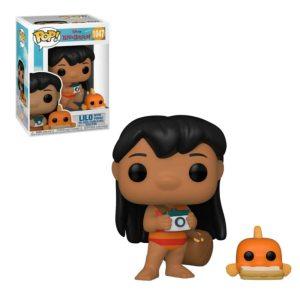 Funko Pop Disney Lilo y Stitch Lilo con pato