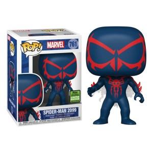funko pop marvel spiderman emerald city comic con eccc 2021 spiderman 2099