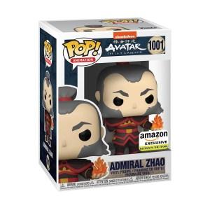 Funko Pop Anime Animation Avatar General Zhao GITD Amazon Exclusive