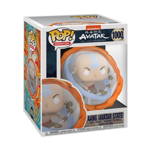 Funko Pop Anime Animation Avatar Aang Avatar State