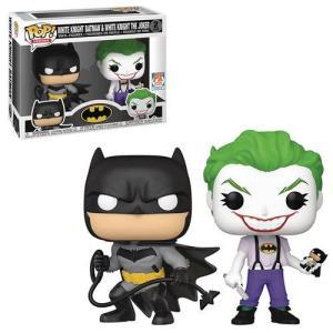 Funko Pop Dc Heroes White Knight Batman & White Knight The Joker 2 pack PX
