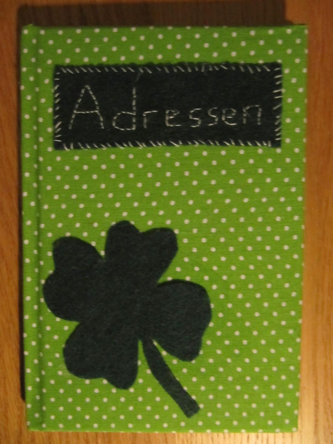 DIY Adressbuch