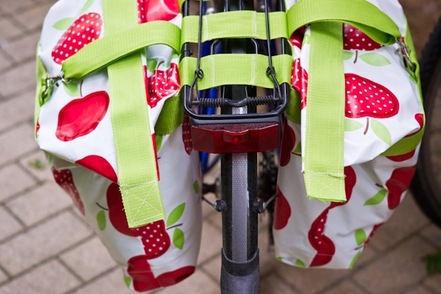 Satteltaschen fürs Fahrrad nähen