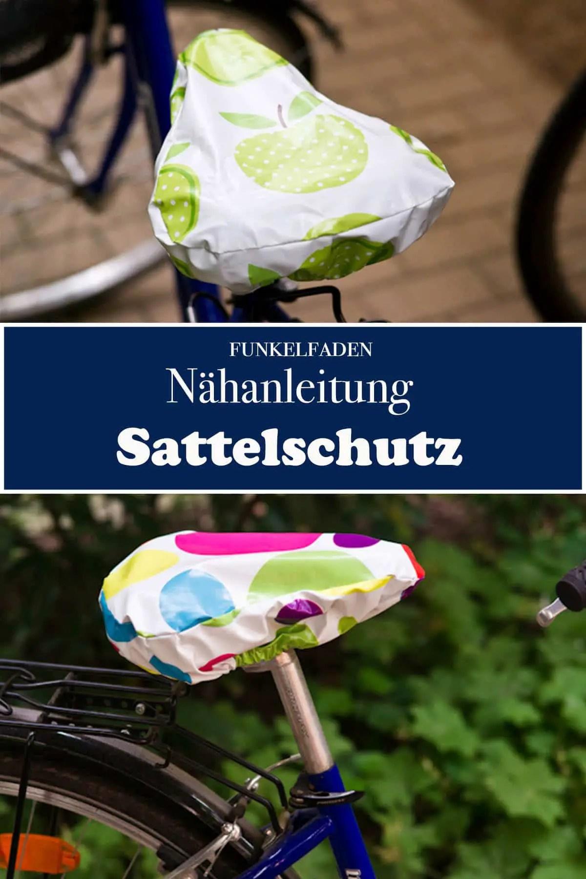 Nähanleitung Sattelschutz fürs Fahrrad