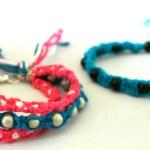 Geknüpfte Armbänder im Ethno Stil (Bastelbuch)