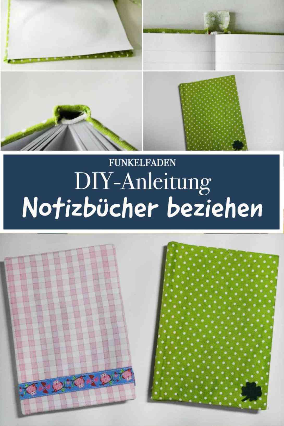 diy anleitung zum beziehen von b chern mit stoff. Black Bedroom Furniture Sets. Home Design Ideas