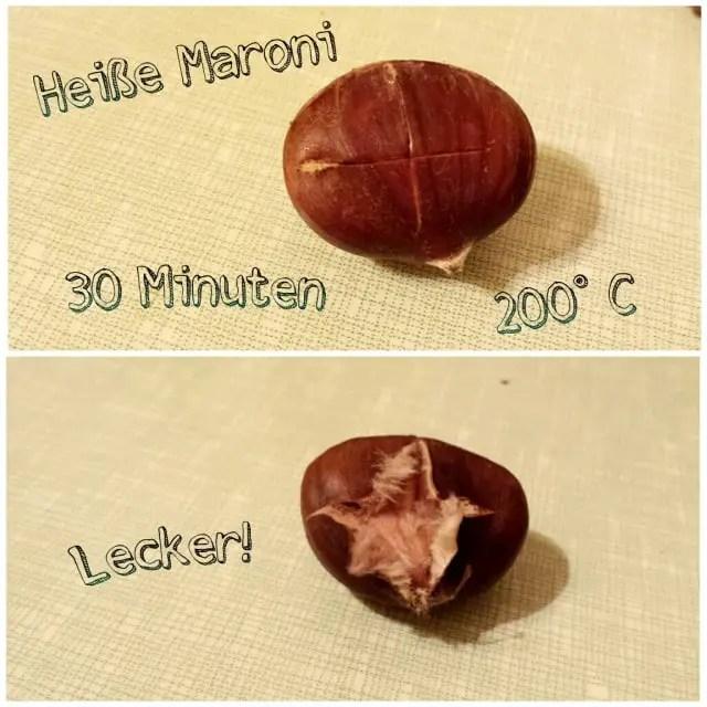 Maroni im Ofen selber machen - Rezept