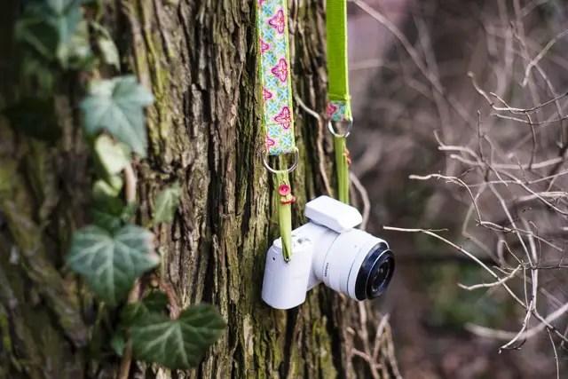 Tutorial genähter Kameragurt