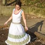 Genäht – Ein Sommerkleid mit Stufenrock