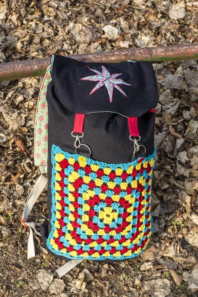 DIY Travelbag - selbst genähter Reiserucksack