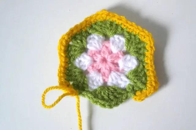 Anleitung Blumen häkeln Granny Square