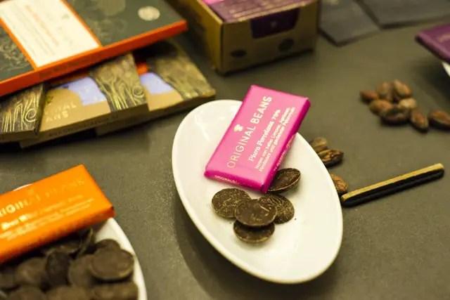 Original Beans Schokolade auf der Next Organic Berlin 2014