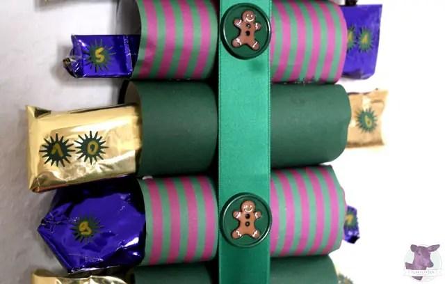 DIY - Adventskalender basteln aus Toilettenpapierrollen - Last Minute