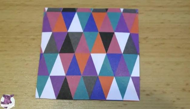 Anleitung - Einfache Sterne aus Papier basteln