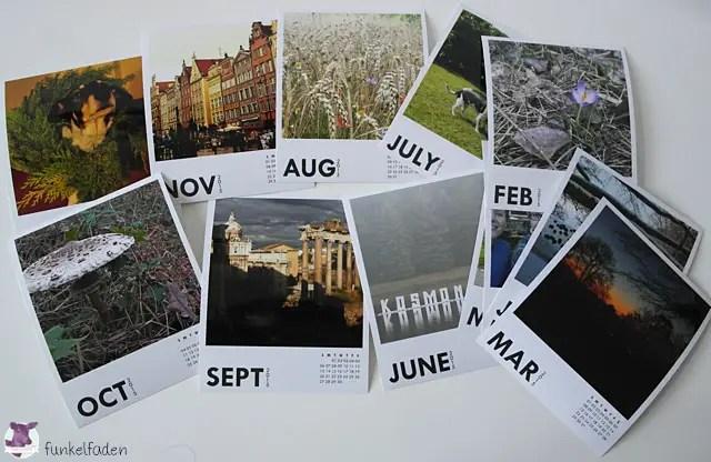 Printic - Fotokalender im Polaroid-Stil