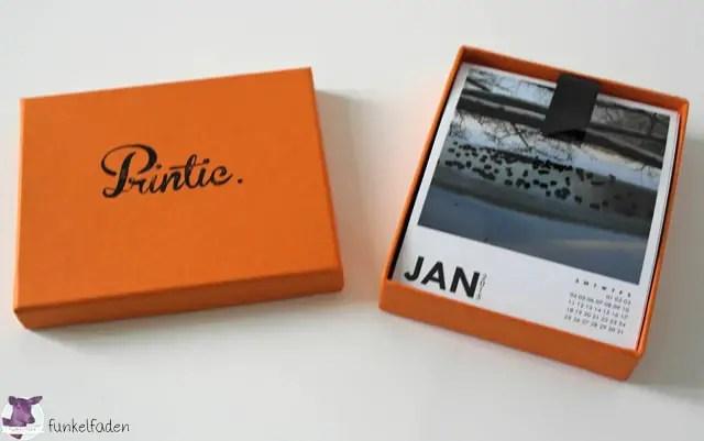 Polaroid-Fotokalender von Printic
