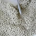 Frühlingsjäckchen-Knit-Along – Erster Zwischenstand