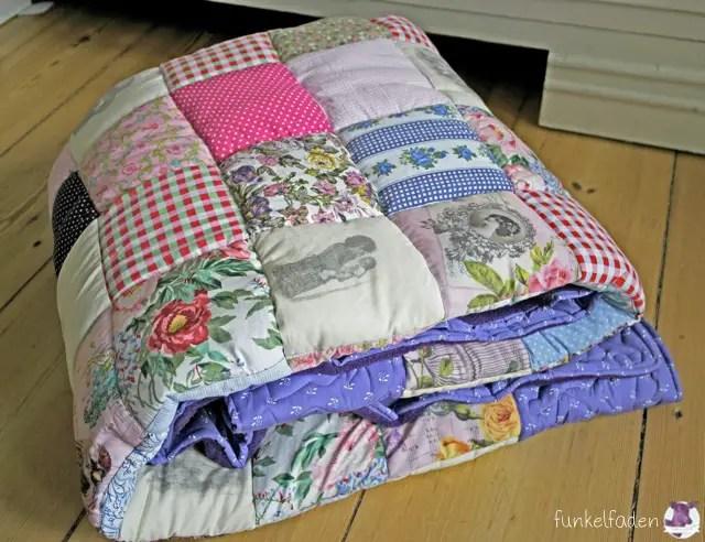 gen ht mal wieder eine patchworkdecke anleitungen do. Black Bedroom Furniture Sets. Home Design Ideas