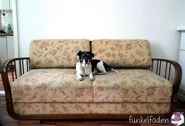 Sofa / Daybed neu beziehen