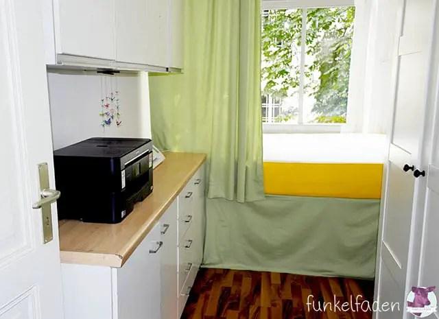 Ein winziges DIY Schlafzimmer