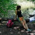 Genäht – Shorts & Shirt zum Wandern