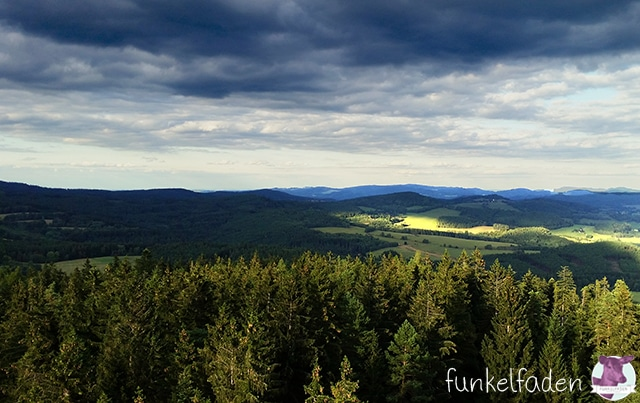 Böhmischer Wald / Aussichtsturm am Lipno Lake