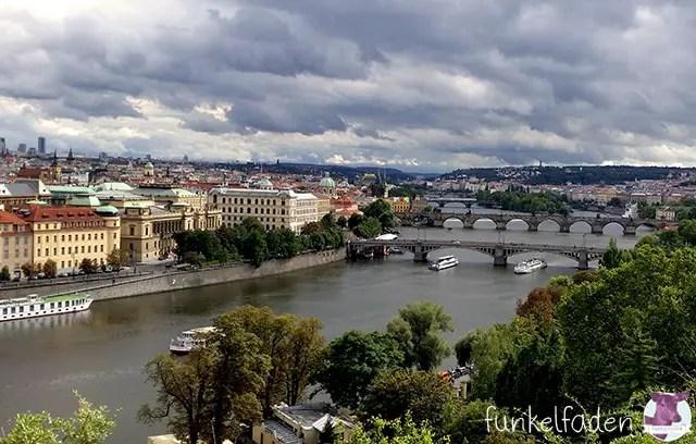 Skyline von Prag im September 2015