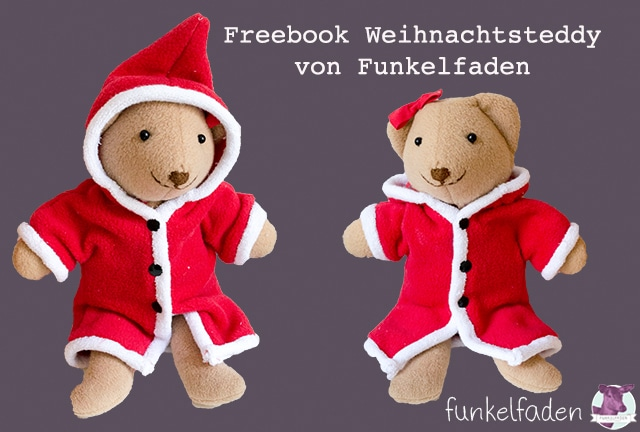 Freebook Weihnachtsteddy