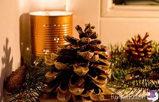 Basteln weihnachtslichter weihnachten  Upcycling – Lichter aus Blechdosen › Anleitungen, Do it yourself ...